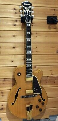 Ibanez GB10NT George Benson Natural Electric Guitar Free Shipping • 1,700.50£