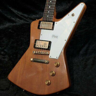 Gibson Custom Shop 1958 Explorer Mahogany Elbow Cut Heavy Antique Natural • 4,500.69£