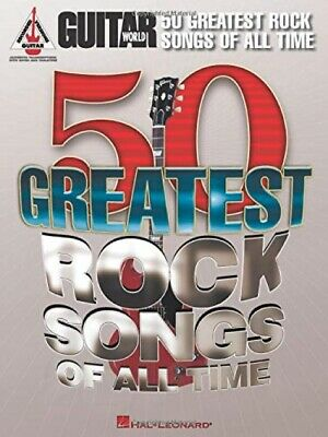 Guitar World: 50 Greatest Rock Songs Of All Time • 36.71£