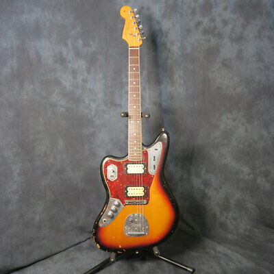 Fender 2011 Kurt Cobain Nirvana Road Worn Jaguar Rare Left Handed Guitar + Case  • 1,599.99£