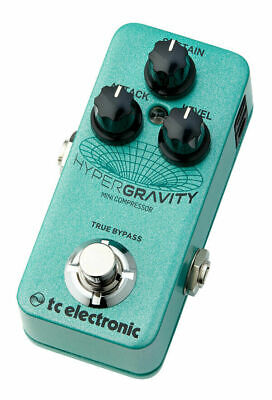 Tc Electronic HyperGravity Mini Compressor New Guitar Effect Pedal • 142.71£