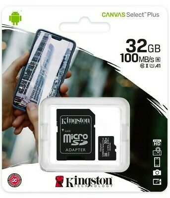 32GB Micro SD Memory Card For ZOOM H1n,H2n,H4n Pro,H5,H6,H3-VR Handy Recorder • 5.98£