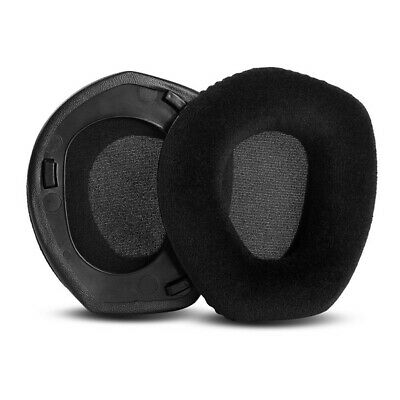 Velour Earpads Cushion Replacement Foam For Sennheiser HDR165 HDR175 RS165 RS175 • 14.99£