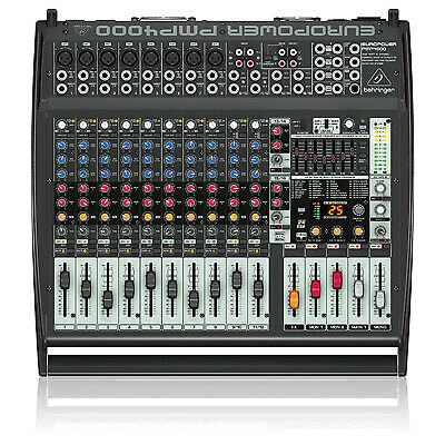 Behringer PMP4000 Europower Flatbed Mixer Amplifier • 355.80£