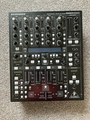 Behringer DDM4000 Professional Digital DJ 4 Channel Mixer - Comes With Box • 215£