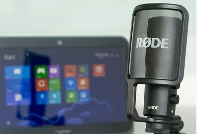 Rode NT-USB USB Versatile Studio Quality Recording Microphone Without Stand  • 179.91£