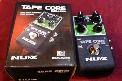 NUX  TAPE CORE DELUXE TAPE ECHO Brand New • 64.99£