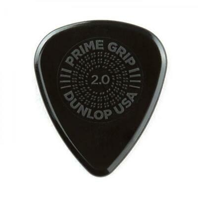 Jim Dunlop Prime Grip Delrin 500 Plectrum Players Pack Grey - 12 Pack - 2.00 • 5.99£