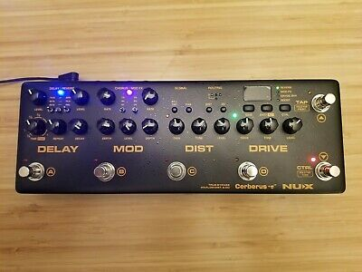 NEW NUX Cerberus (NME-3) Integrated Effects & Controller • 238.60£