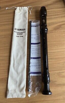 Yamaha YRS 24B Recorder (unused) • 7.50£