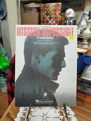 Mission Impossible Theme [Easy Piano Solo] , Hal Leonard Very Good Condition  • 2.13£