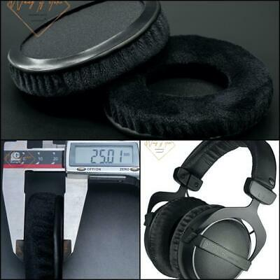 Thick Velour Velvet Ear Pads Cushion For Beyerdynamic DT 770/880/990 PRO Headset • 10.42£