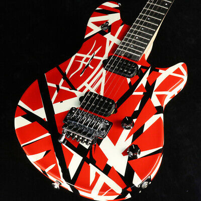 EVH: Electric Guitar Wolfgang Special Red With Black And White Stripes • 1,767.20£
