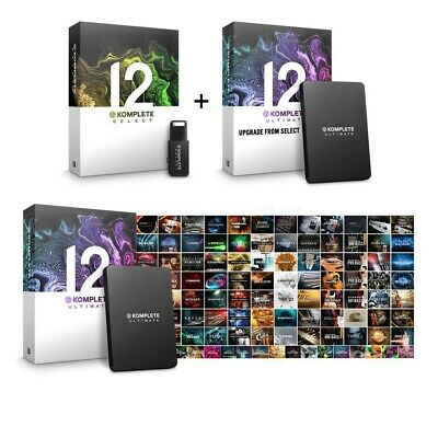 Native Instruments Komplete 12 Ultimate Software Suite • 650£