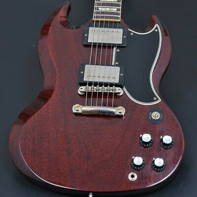 Gibson Custom Shop 1961 Les Paul SG Standard Reissue Stop Bar VOS Cherry Red • 4,418.49£