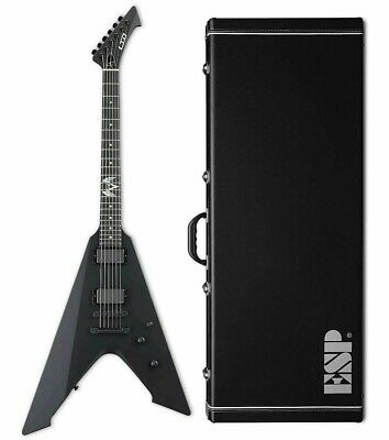 ESP LTD James Hetfield Vulture Black Satin BLKS Electric Guitar + Case B-Stock • 789.36£