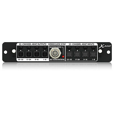Behringer X-Adat 32-Channel ADAT / Wordclock Expansion Card For X32 • 296.32£