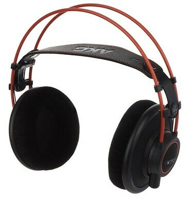 AKG K-712 Pro Reference Studio Headphones Black/Red Colour • 255£