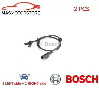 Abs Wheel Speed Sensor Pair Rear Bosch 0 265 007 896 2pcs I New Oe Replacement • 47.95£