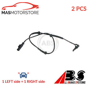 Abs Wheel Speed Sensor Pair Front Abs 30571 2pcs P New Oe Replacement • 50.95£