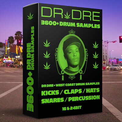 3600+ Dr Dre / West Coast Hip Hop Drum Samples - FL Studio, Live, MPC, AKAI, WAV • 4.99£