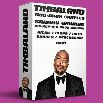 1100+ TIMBALAND Drum Samples - FL Studio, Live, MPC, AKAI, WAV • 4.99£