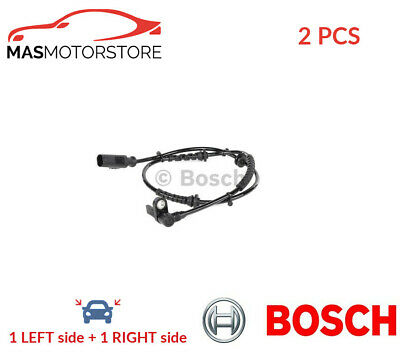 Abs Wheel Speed Sensor Pair Front Bosch 0 265 008 089 2pcs I New Oe Replacement • 50.95£