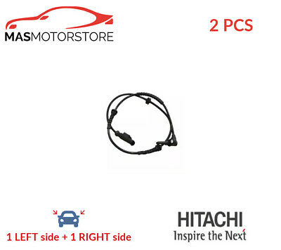 Abs Wheel Speed Sensor Pair Front Hitachi 131634 2pcs P New Oe Replacement • 50.95£