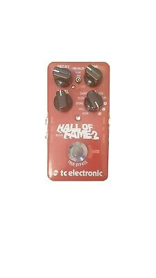TC Electronic Hall Of Fame 2 Reverb Guitar Effect Pedal • 44£