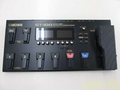 Boss GT-100 Multi Effects Guitar Effect Pedal With Power Cord USED From Japan E • 284.33£