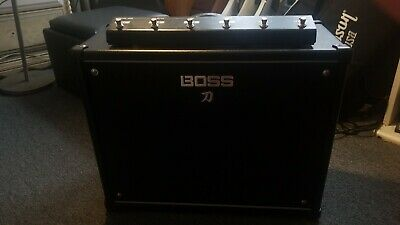 Used Boss KTN-100 Guitar Amplifier With GA-FC Footswitch • 243.54£