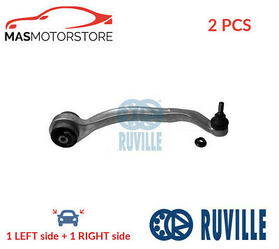 Lh Rh Track Control Arm Pair Lower Front Rear Ruville 935753 2pcs I New • 128.95£