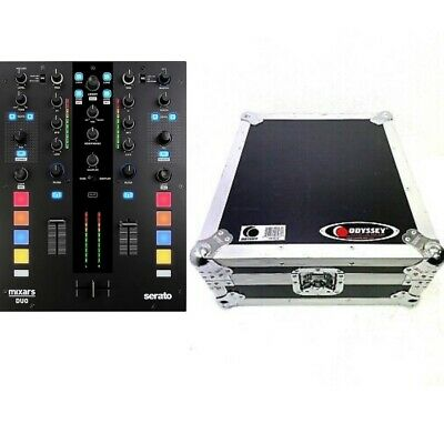 New Open Box Mixars Duo MKii Mixer With Odyssey Road Case • 429.71£