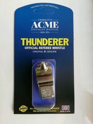 Acme No.58 Thunderer Official Referee Whistle • 12£