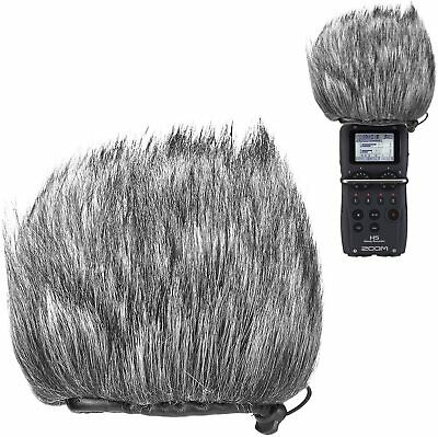 Furry Outdoor Windscreen Muff, Pop Filter/Wind Cover Shield For Zoom H5, H6 • 16.49£