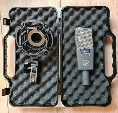 AKG C414B XLS With SHOCKMOUNT And 3rd Party HARDCASE • 570£