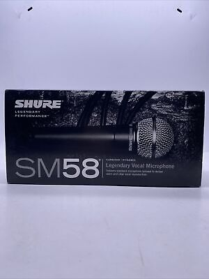 SHURE SM58-LC Professional Microphone Handheld • 90£