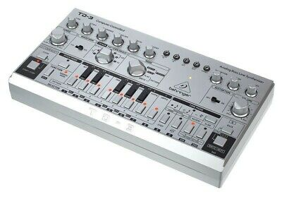 Behringer TD-3-SR, Analog Bass 303 Clone Synth, Opened Box But Used Once, Silver • 0.99£