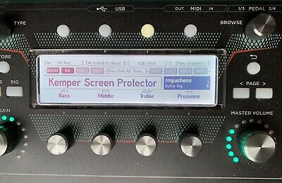 Kemper Plexiglass Display - Screen Protector For Remote Rack Stage Head Profiler • 9.99£