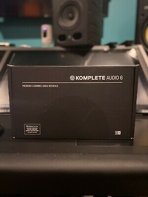 Native Instruments Komplete Audio 6 MK2 Interface (Open Box) • 148.16£