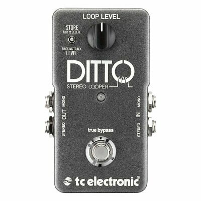 TC Electronic Ditto Stereo Looper Pedal • 109£