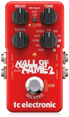 Tc Electronic Hall Of Fame 2 Reverb Pedal • 184.12£
