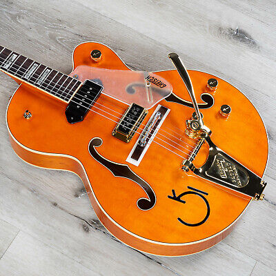 Gretsch G6120 Eddie Cochran Signature Hollow Body Guitar, Western Maple Stain • 2,026.04£