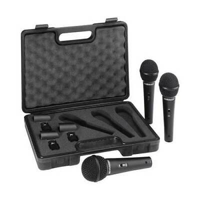 Behringer XM1800S 3 Dynamic Cardioid Microphones Set Of 3 *GREAT VALUE* • 29.65£