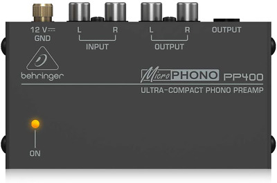 Behringer PP400 Microphono Ultra Compact Phono Preamp Assorted 1 Paquet / S • 28.93£