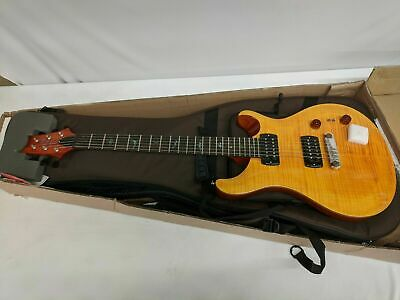 2019 PRS SE Paul's Guitar W/ Gig Bag, Amber, NEW With Tags! • 713.90£
