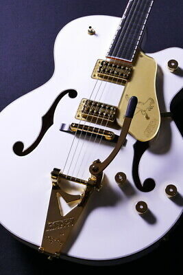 Used Gretsch G6136T -White Falcon- Guitar *Zdf458 • 3,257.45£