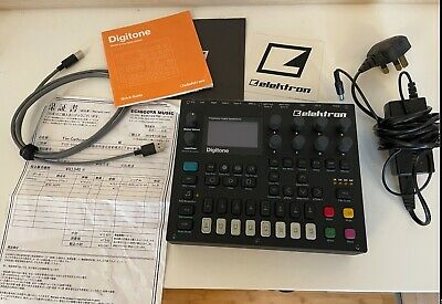 Elektron Digitone 8 Voice Polyphonic Digital Synthesizer - Back (DTN1) • 500£