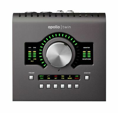 Universal Audio Apollo Twin MkII Duo AUDIO INTERFACE - NEW Sealed In Box • 583.70£