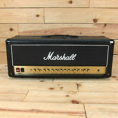 Marshall DSL100HR 100wt Valve Head W/Reverb And Effects Loop • 636.28£